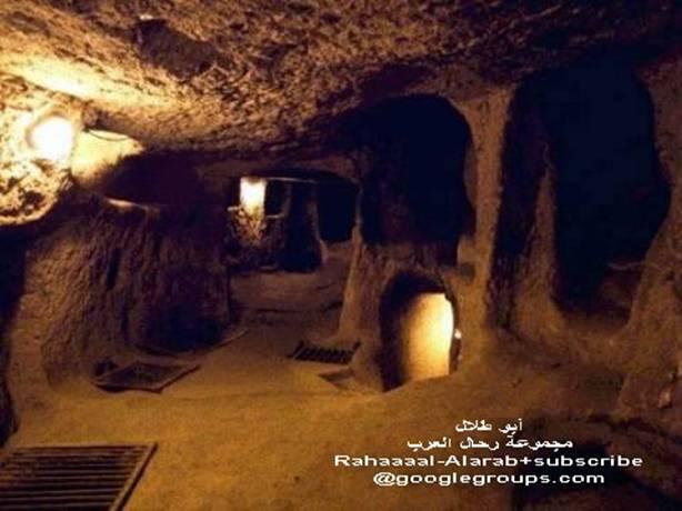 مدينة جن تحت الارض بتركيا alshiaclubs-2f986136